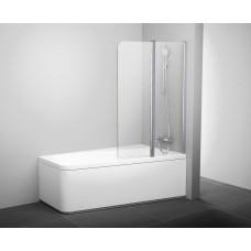 Штора для ванны Ravak 10CVS2-100 R белый/Transparent (7QRA0103Z1)