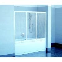 Штора для ванны Ravak AVDP3-150 белый/Rain (40VP010241)