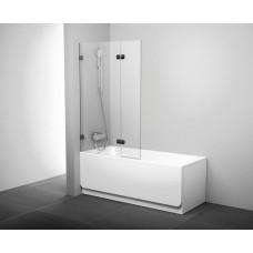 Штора для ванны Ravak BVS2-100 L хром/Transparent (7ULA0A00Z1)