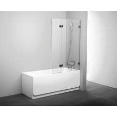 Штора для ванны Ravak BVS2-100 R хром/Transparent (7UPA0A00Z1)