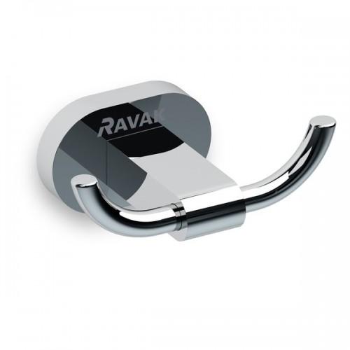 Kрючок для полотенца двойной Ravak Chrome (X07P186)