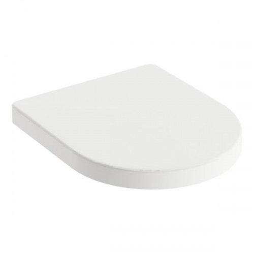 Сидение с крышкой softclose Ravak Uni Chrome 02A white (X01549)