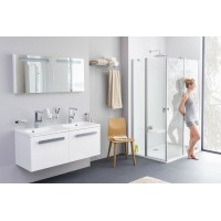 Стеклянная полка в ванную комнату Ravak Chrome (X07P195)
