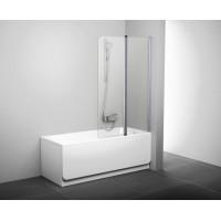 Двух-элементные душевые шторки на ванну