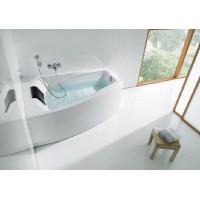 Ванна левая Roca Hall 150x100 с подголовником (A248164000)