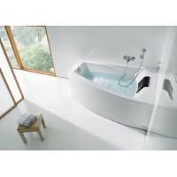 Ванна правая Roca Hall 150x100 с подголовником (A248165000)