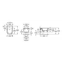 Крышка для биде Roca inspira Round Softclose SUPRALiT® (A80652200B)