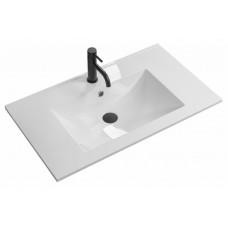 Умывальник Rea Niva 60,5x46 white, материал konglomerat, REA-U8904