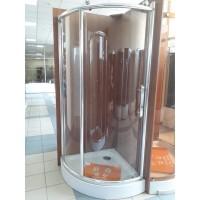 Душевая кабина Rhein RH715L 120x80 с поддоном, прозрачное стекло