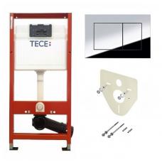 Инсталляция для унитаза TECE Base 4 в 1 с панелью смыва хром (9400006)