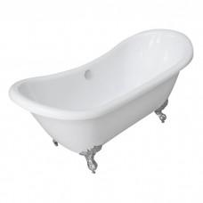 Ванна акриловая Volle 175x75 отдельностоящая на ножках (12-22-314)