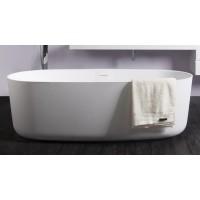 Ванна каменная Volle Solid surface 1680x800x530 мм отдельностоящая, 12-40-036