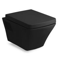 Унитаз подвесной Volle TEO black с сиденьем Soft Close, 13-88-422black
