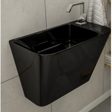 Умывальник Volle TEO black 50x28x35 см моноблок подвесной (13-88-601black)