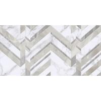 Плитка Golden Tile Marmo Bianco 30x60 chevron, G70151